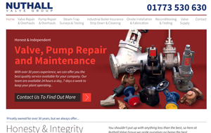 Nuthall valve Group
